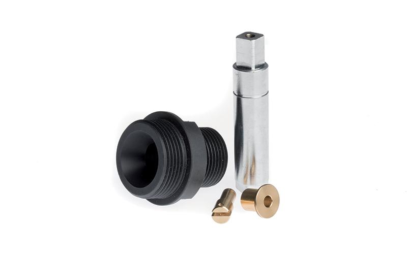 Particolari torniti e fresati a disegno in materiali ferrosi e non ferrosi - Applicazione Settore Riscaldamento e Condizionamento - Unispecial