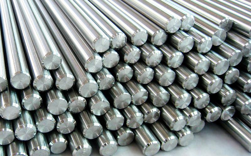 Materiali lavorati mediante lavorazioni meccaniche CNC di precisione a disegno conto terzi - Torneria Unispecial - Argento in barre