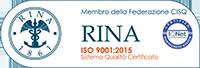 Certificazione UNI ISO 9001:2015 Unispecial. srl