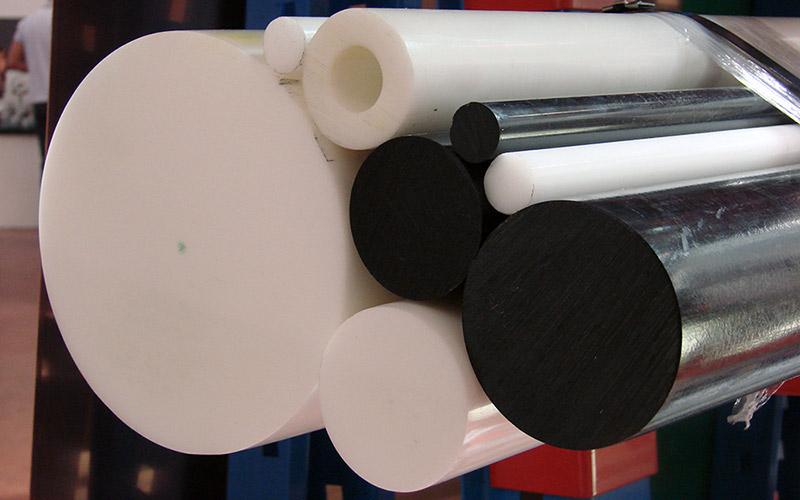 Lavorazioni meccaniche di precisione conto terzi - Materiali lavorati - Materie Plastiche